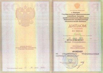 Диплом Музалевский