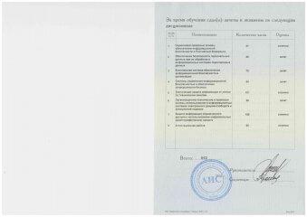 Приложение к диплому 2 Гончаров